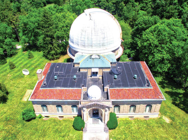 "Ohio Wesleyan's Perkins Observatory will host daytime ""Celebration of the Sun"" events at 4 p.m. July 14, 21, and 28. The afternoon celebrations will replace the observatory's Friday night skywatches throughout the month"