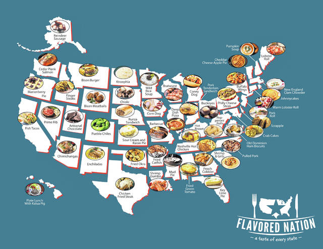 Flavored Nation will provide a taste of America, showing off the most iconic dishes from all 50 states.