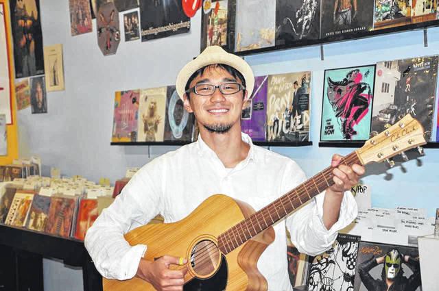 Guitarist Shohei Toyoda, raised in Dublin and now living in his native country of Japan, returns to central Ohio to perform at Pat's Endangered Species on Thursday night.