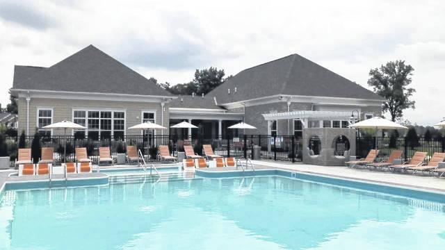 Just one of many amenities, Northlake Summit includes a heated, resort-style swimming pool.
