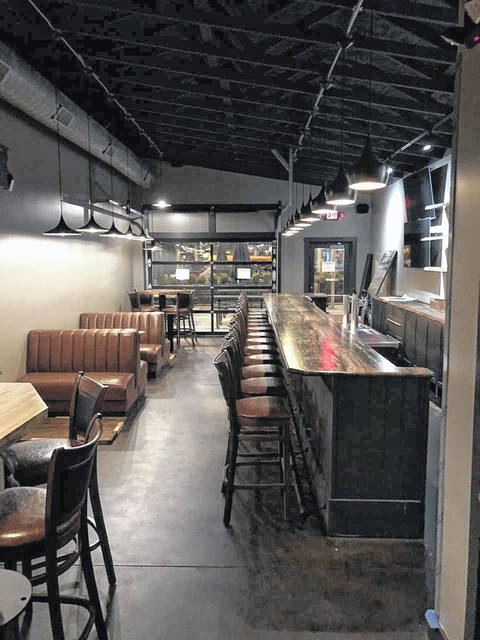 The inside of SMOHKED will include 24 seats and 13 bar stools for patrons of the new barbecue restaurant.