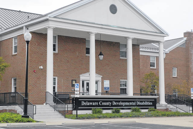 Pictured is the Delaware County Board of Developmental Disabilities office at 7991 Columbus Pike (U.S. Route 23) in Lewis Center.
