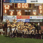 Landis helps Barons win conference crown