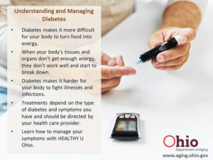 Manage diabetes to give body fuel it needs
