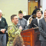 Dempsey Middle School honors veterans