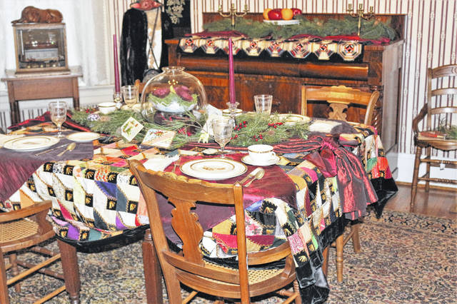 Pictured is a room inside the Delaware County Historical Society's Nash House Museum. Located at 157 E. William St. in Delaware, the museum will be the site of the historical society's annual holiday open house on Dec. 1-2.