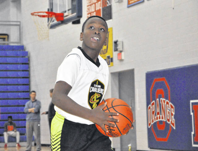 Guma Wabwire, a fourth-grade student at Oak Creek Elementary School, was selected in September as one of five junior reporters for the 2018-19 Cleveland Cavaliers season.