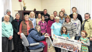 Climate group celebrates bill