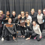 Hayes Winter Guard places second