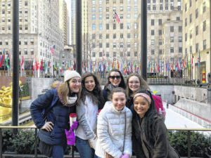Hayes music students travel to NYC