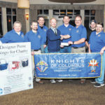 Knights of Columbus donate $4,000 to ASFP