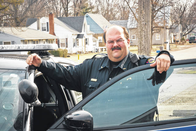 Scott Santos, the village of Ashley's new police chief, said he takes a holistic approach to law enforcement in the small community. He was officially appointed chief on March 5.