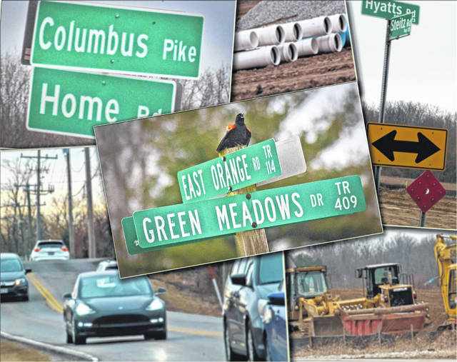 The Delaware County Engineer's Office presented a capital road and bridge improvement plan to the Board of Commissioners on Monday that includes spending $140 million of county funds and leveraging $100 million in federal, state and local partner funds for 77 projects through 2023. Some of the major projects include Home Road east and west of U.S. 23, Orange Road railroad underpass, Glenn Road extension, Big Walnut interchange, and improvements to the U.S. Route 23 corridor.
