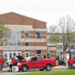 Vehicles inspected at Big Walnut High School