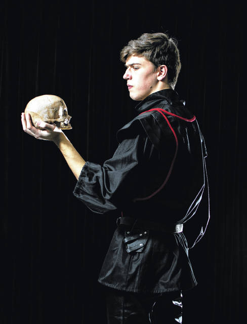 Ohio Wesleyan student Joe Antal will perform the role of 'Hamlet' in Ohio Wesleyan's April 12-14 performance of Shakespeare's most-produced play.