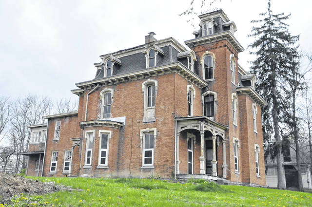 Pictured is the east side of the historic structure at 235 W. William St., mostly commonly known as the Perkins House. The home, which will be renovated to become the front part of Wesleyan Inn, is located next door to the Ohio Wesleyan Student Observatory.