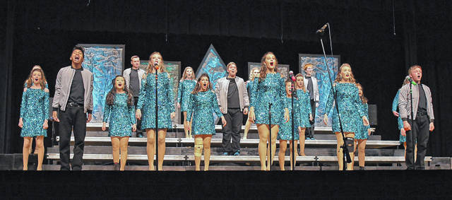 Visions, Buckeye Valley High School's award-winning show choir, will perform in its annual fundraising cabaret at 7 p.m. on Saturday, April 6.