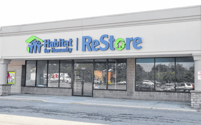 Pictured is the new location of the Habitat for Humanity ReStore in the Delaware Square Shopping Center at 1161 Columbus Pike (U.S. Route 23) in Delaware. The store is expected to open in June.