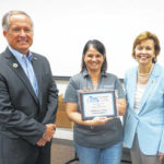 Commissioners honored with public service award