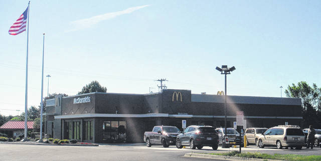 Pictured is the recently reopened McDonald's near Interstate 71.