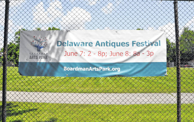 Boardman Arts Park, located at 154 W. William St., Delaware, will be the site of the second annual Delaware Antique Festival June 7-8.