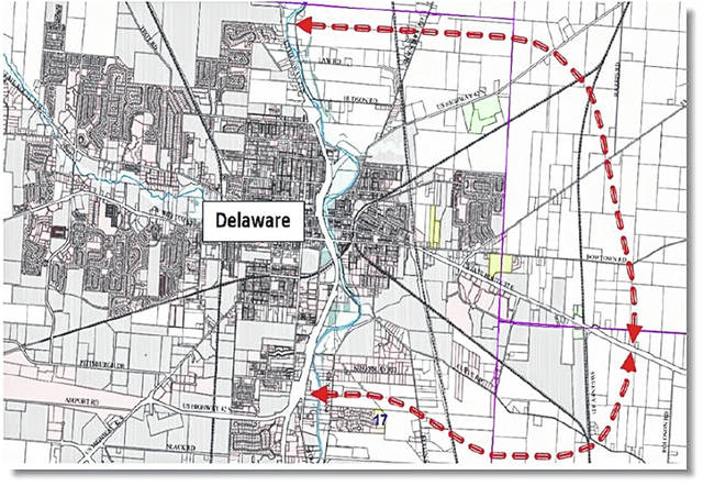 Road projects heating up on east side - Delaware Gazette