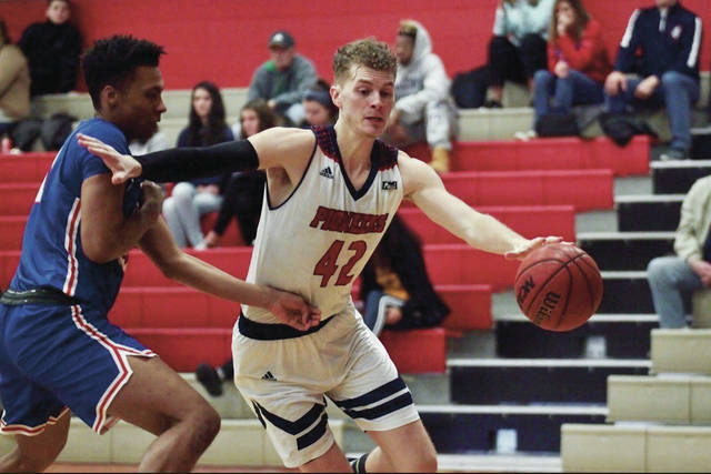 Delaware Christian and Malone University grad Ben Evans (42) has signed a professional contract to play for the Depiro Basketball Club in Malta. He'll report to the team in September.