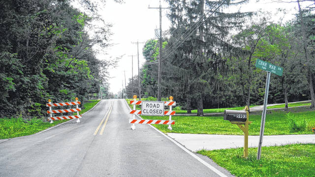 Freeman Road in Genoa Township is closed between Char-Mar Drive and Worthington Road.