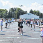 Hayes Marching Band camp underway