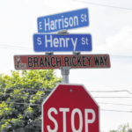 Hayes, Curry now honorary street names