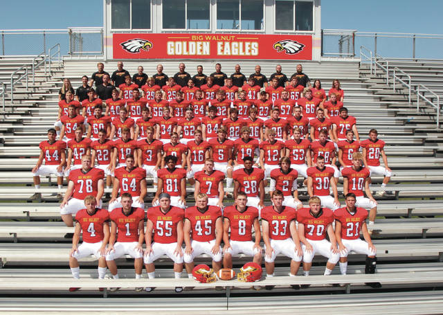 The 2019 Big Walnut varsity football team.