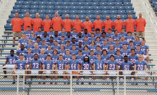 The 2019 Olentangy Orange varsity football team.