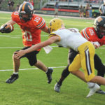 Pacers run past Barons, 35-0