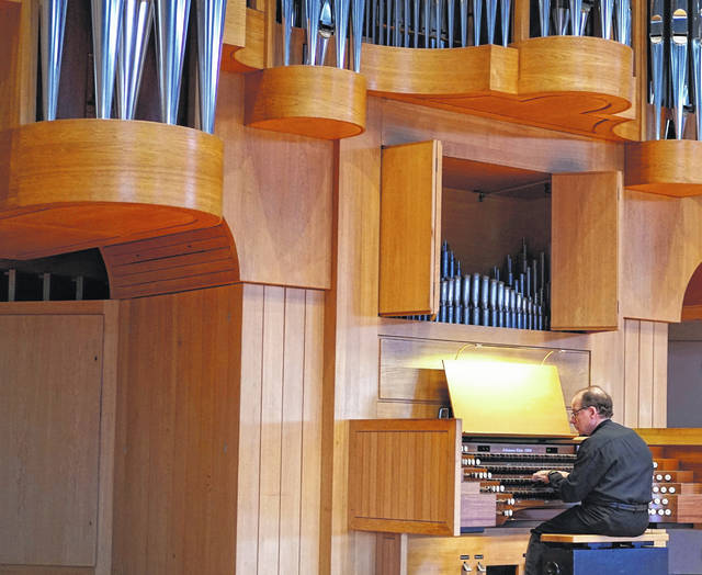 James Hildreth will perform a free concert Sept. 20 on Ohio Wesleyan University's Rexford Keller Memorial Organ.