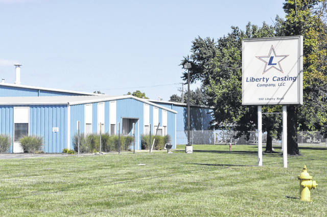Liberty Casting in Delaware has been granted approval by the city to add on to the exisiting plant at 550 Liberty Road.