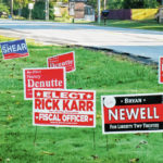 Campaign sign theft on the rise