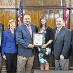 Auditor receives state award for clean audit