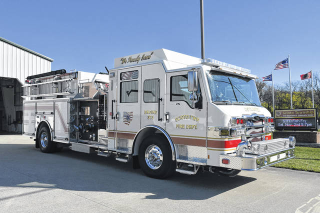 During its annual Halloween Open House from 5-6 p.m. Thursday, Oct. 31, and annual Fish Fry from 5-8 p.m. Saturday, Nov. 2, the Scioto Township Fire Department will display its newest piece of equipment — a 2020 Pierce rescue truck. According to Fire Chief Marvin McIntire, the $625,000 apparatus went into service Oct. 1 and has been on three runs. The new apparatus replaced a 1991 International rescue truck that served the community for 29 years.