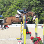 Horse jumping is hot in Johnstown