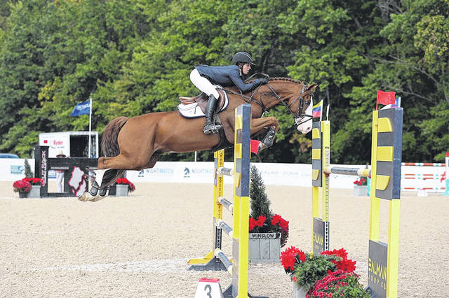 Canadian rider Ali Ramsay and her horse, Lutz, were winners at a Show Jumping event in Johnstown last weekend.