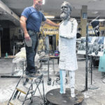 Process behind immortalizing Hayes in bronze