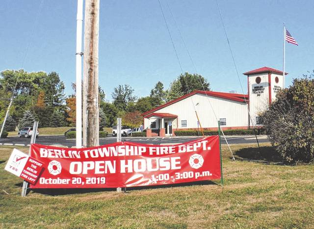The Berlin Township Fire Department recently had an open house at Station 390, 2708 Lackey Old State Road, Delaware.