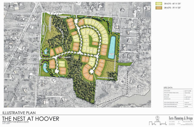 The Final Development Plan for The Nest at Hoover.