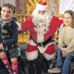 Holiday party brings smiles