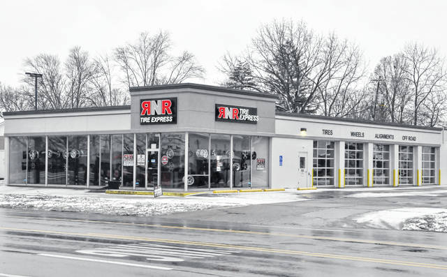 RNR Tire Express opened last week in the former Goodyear location at 150 S. Sandusky St., Delaware.