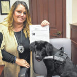 County gains therapy dog