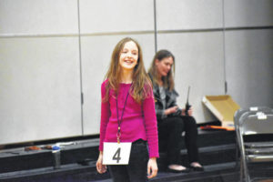Hinton 3-peats as spelling champ