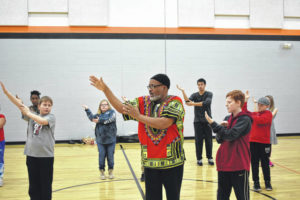Students get lesson in tai chi