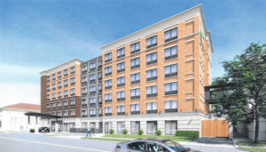 Downtown hotel inches closer