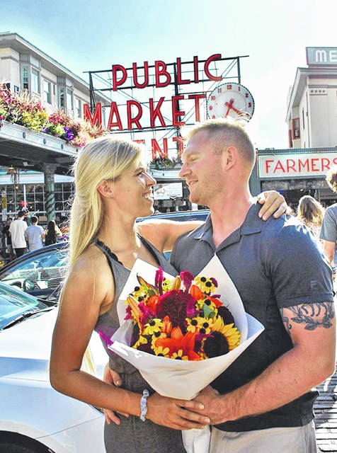 Delaware natives Nick Spalsbury and Bethany Naegele are set to be married Friday, Feb. 7, as part of Main Street Delaware's First Friday event.